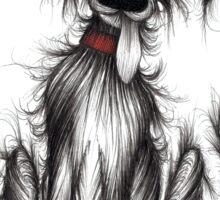 Scruffy tail Sticker