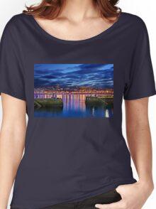 The port of San Sebastian (Donostia) Women's Relaxed Fit T-Shirt