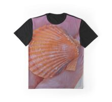 Seashell - Orange Sea Treasure | Orient, New York  Graphic T-Shirt