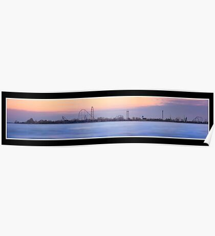 Cedar Point Panoramic Poster