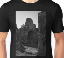 Old furnace in a medieval castle Unisex T-Shirt