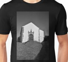 Church of Misericordia in Monochrome Unisex T-Shirt