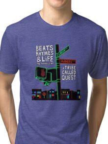 Beats Rhymes & Life - the travel of Tri-blend T-Shirt