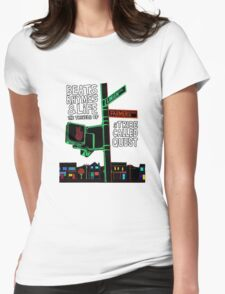 Beats Rhymes & Life - the travel of Womens Fitted T-Shirt