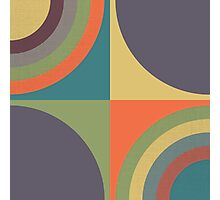 Circles - 3 Photographic Print