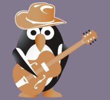 Penguin guitarist Kids Tee