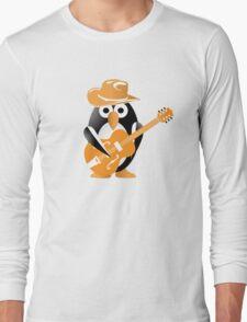 Penguin guitarist Long Sleeve T-Shirt