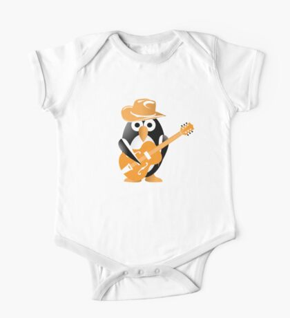 Penguin guitarist One Piece - Short Sleeve