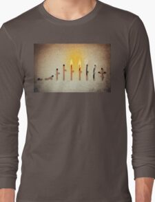 life cycle Long Sleeve T-Shirt