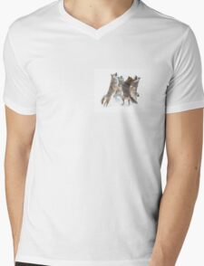 Coyote Sing-along Mens V-Neck T-Shirt