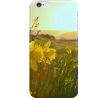 """ Sunrise On Daffodil Hill "" iPhone Case/Skin"