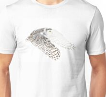 Wings Out - Snowy Owl Unisex T-Shirt