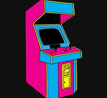 Stand Up, Old School Arcade Game (CMYK) Unisex T-Shirt