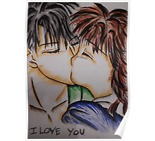 i love you anime Poster