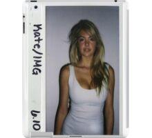 Kate Upton Polaroid iPad Case/Skin
