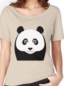 PANDA PORTRAIT Women's Relaxed Fit T-Shirt
