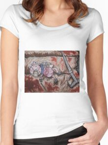 bio shock doll Women's Fitted Scoop T-Shirt