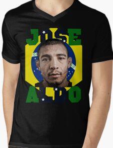 Jose Aldo Brazilian Beast Mens V-Neck T-Shirt