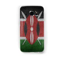 Kenya Flag Grunge Samsung Galaxy Case/Skin