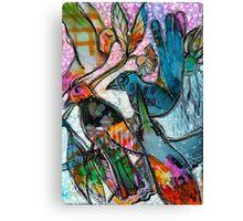 Bright Birdys Canvas Print