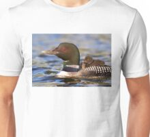 Common loon and chick T-Shirt