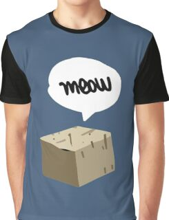 Warren Graham - Meow Box Graphic T-Shirt