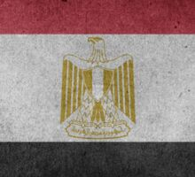 Egypt Flag Grunge Sticker