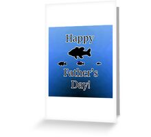 Father's Day Fish Greeting Card