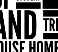 Treehouse homes Sticker