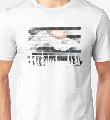 Mountain Lion at Midnight... Unisex T-Shirt