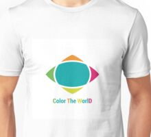 Color the world Unisex T-Shirt