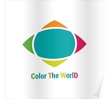 Color the world Poster