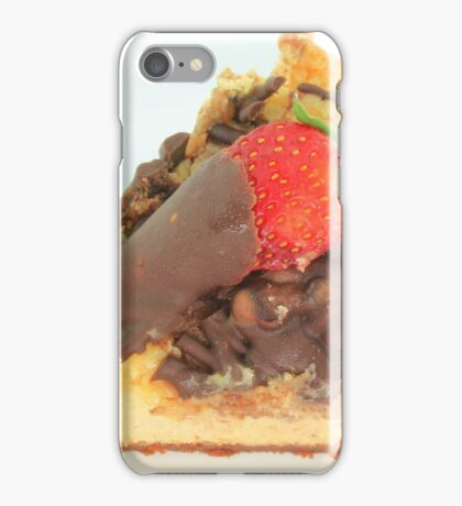Chocolate Cheesecake iPhone Case/Skin