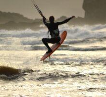 Surfer Splash Sticker