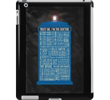 Dr. Who iPad Case/Skin