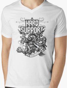 Hard Support Omniknight Mens V-Neck T-Shirt