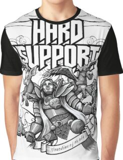 Hard Support Omniknight Graphic T-Shirt