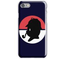 Pikachu Holmes Profile iPhone Case/Skin