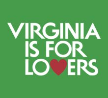 Virginia Is For Lovers One Piece - Short Sleeve