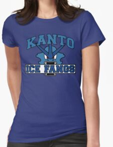 The Kanto Ice Fangs Womens Fitted T-Shirt
