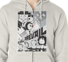 TSR - We Will Prevail Zipped Hoodie