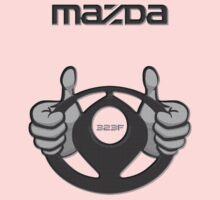 Mazda Eternal Flame Logo Grey Kids Tee