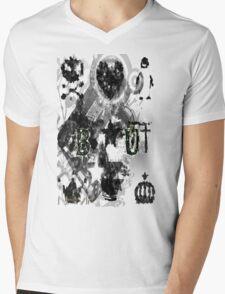 BU BY JB (Pixel Edition) Mens V-Neck T-Shirt