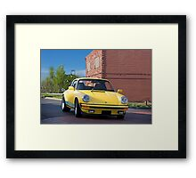 Porsche 911 'Old Town Turbo' Framed Print