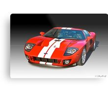 2011 Ford GT Production Metal Print