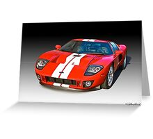 2011 Ford GT Production Greeting Card