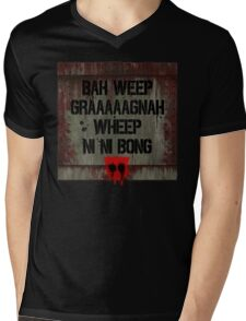 Universal Greeting Mens V-Neck T-Shirt