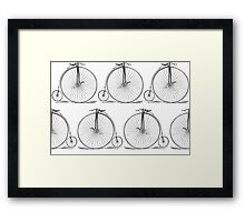 Danita's High Wheel Bicycle Framed Print