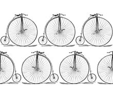 Danita's High Wheel Bicycle Photographic Print