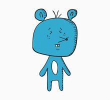 Cartoon blue mouse Unisex T-Shirt